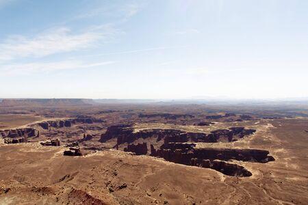 USA, Utah, Salt Lake County, View of Canyonland Circle