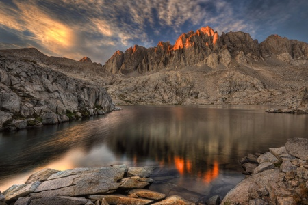 nevada: California, United States of America, Last Light On The Palisades