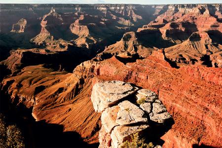 USA, Arizona, Coconino County, Grand Canyon, Elevated view of canyon