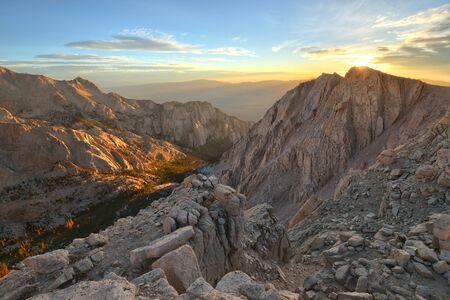 nevada: Sunrise Over Candlelight Peak