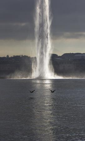 Switzerland, Geneva, Jet Deau LANG_EVOIMAGES