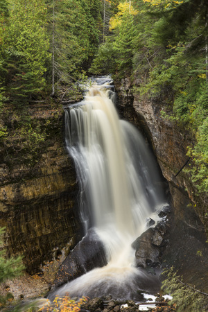 the miners: USA, Michigan, Alger County, Miners Falls