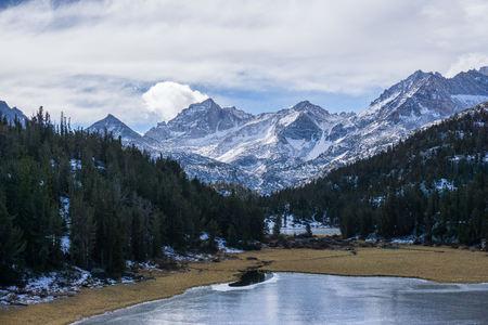 nevada: USA, California, Lake in Eastern Sierra Nevada