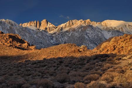 USA, California, Mount Whitney and Alabama Hills