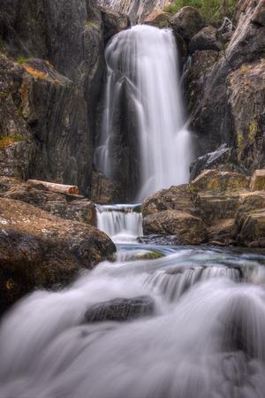 nevada: USA, California, Inyo National Forest, Shadow Creek Falls