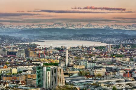 Zurich skyline, Switzerland