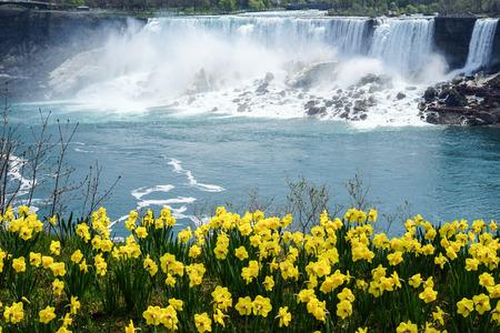 Niagara Falls in Spring, Canada