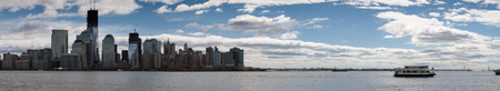 View of Manhattan from New Jersey, New York, USA