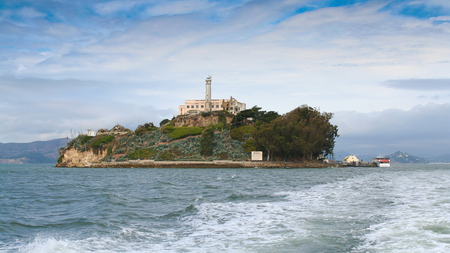 alcatraz: Alcatraz island, San Francisco, California, America, USA