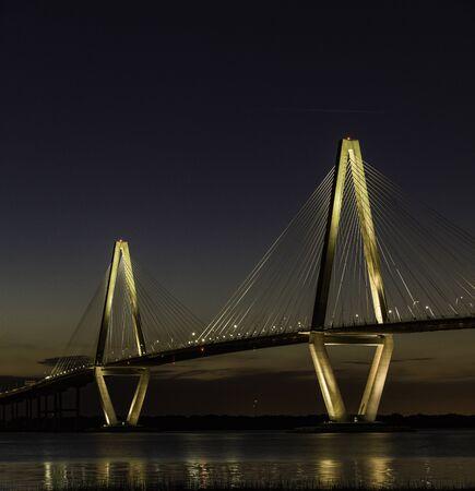 Arthur Ravenel Jr Bridge, South Carolina, America, USA