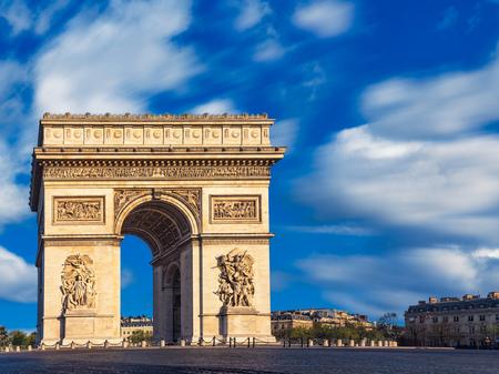 Arc de Triomphe, Paris, France LANG_EVOIMAGES