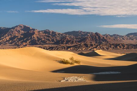 Mesquite Flats Sand Dunes, Death Valley, California, America, USA LANG_EVOIMAGES