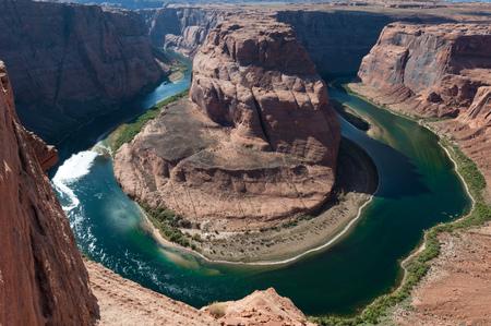 Horseshoe Bend, Page, Arizona, America, USA LANG_EVOIMAGES