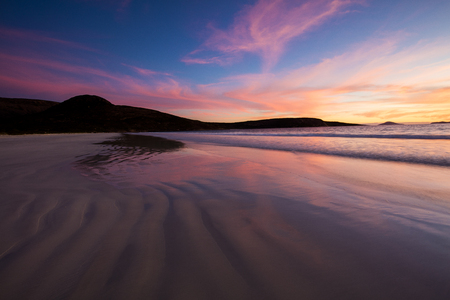 climas: Beach sunset, Cape Le Grand National Park, Esperance, Western Australia, Australia