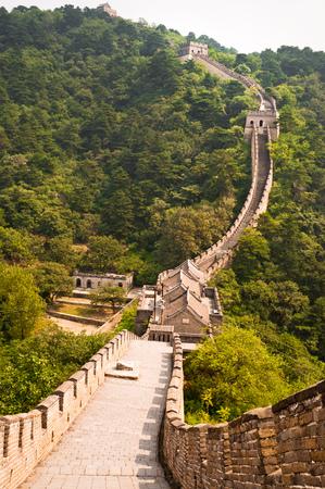 mutianyu: Great wall of China,Mutianyu,China LANG_EVOIMAGES