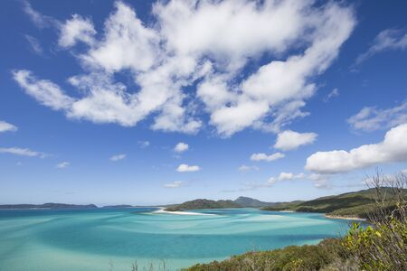Whitehaven Beach, Whitsunday Island, Queensland, Australia LANG_EVOIMAGES