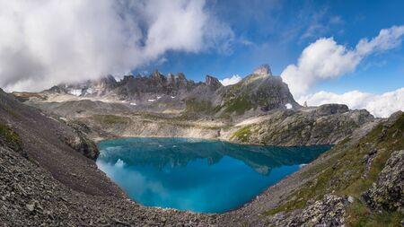 Mountain Lake, Vilters-Wangs, Sankt Gallen, Switzerland