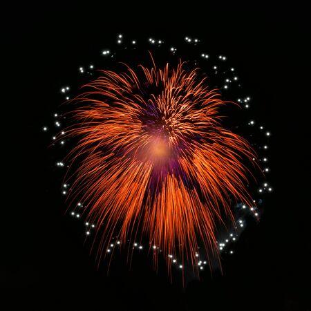 Firework display at night LANG_EVOIMAGES