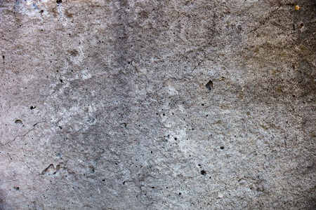 spattered: Grey concrete surface with rich and various texture.  Stock Photo