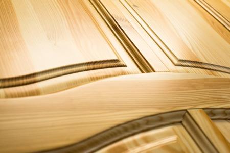 Surface en bois. Cadre et la construction du panneau. Fermer.