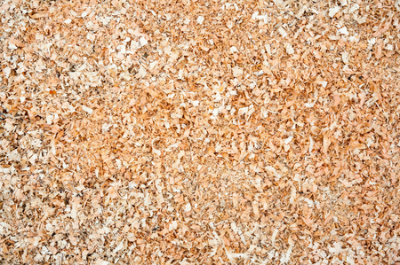 scobs: Pile of wood sawdust for background or texture