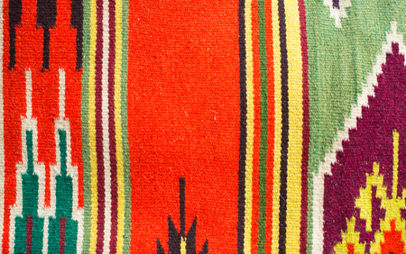 rug weaving: Traditional Ukrainian woven fabric from the Carpathian mountains region