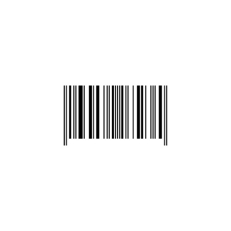 Bar code. Barcode. Data. Product sign. Black and white. Vector illustration.