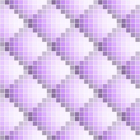 Purple abstract seamless pixel pattern. Pixel art. Vector illustration. Ilustração