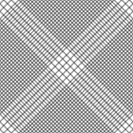 Abstract geometrical striped black and white seamless pattern. Vector illustration.