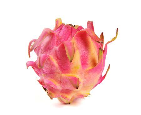 Dragon fruit, pitaya isolated on white background
