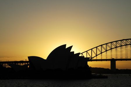 sydney harbour bridge: sydney landmarks