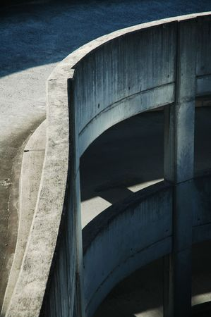 detail photo of parking house in sydney, several floores, all made of concrete Stock Photo - 758491