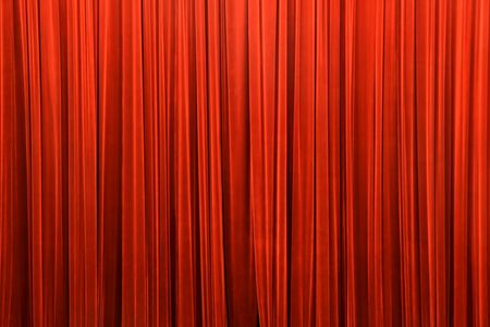 red curtain detail, removed noise, saturated, detail photo, can be used as background photo