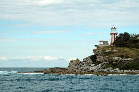 watson bay lighthouse located in east sydney photo