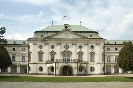 archbishop: summer residence of Archbishop from Ostrih, from 1969 office of slovak government,