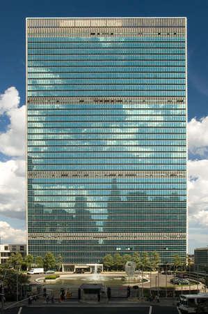 architecture moderne de Le Si�ge des Nations Unies � New York City,