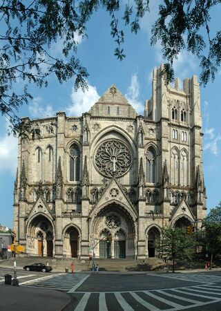 The Cathedral Church of Saint John the Divine in Manhattan, New York photo