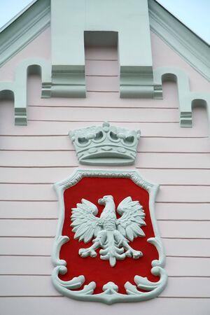 house coat: polish coat of arms, classic house detail photo