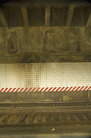 vertical photo of metro subway station Stock Photo - 5289890