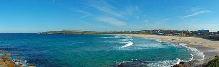 panorama photo of Maroubra Beach in Sydney, Australia photo