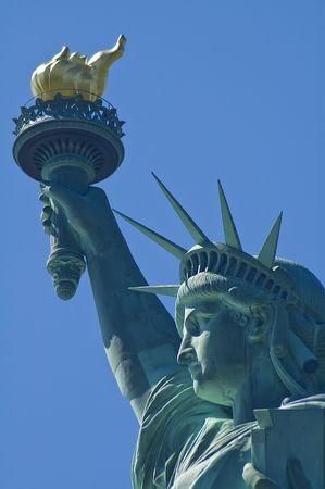 Statue de la libert�, New York, USA. Banque d'images