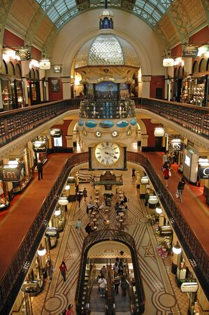 Queen Victoria Building interior, Sydney, Australia