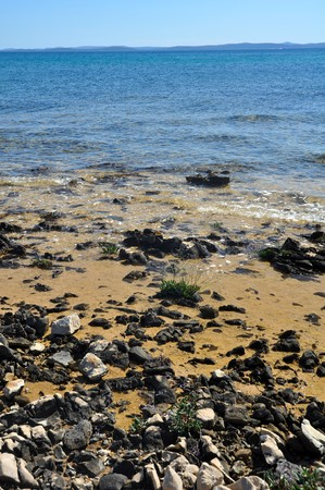 vertical photo of a rocky coastline Stock Photo - 7970520