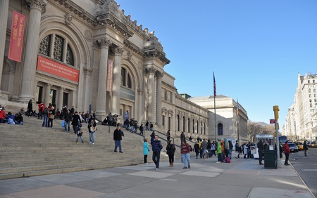 26. MARCH 2011 - MANHATTAN, NEW YORK, USA - The Metropolitan Museum of Art (also known as The Met) in New York City, USA. Photo taken on 26. March 2011.