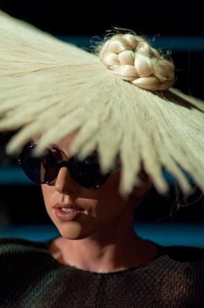 31. Mars 2011 - Manhattan, New York City, Etats Unis - figure de cire de Lady Gaga chez Madame Tussauds � New York, Etats-Unis. Photo prise le 31. Mars 2011.