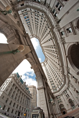 'city hall': Municipal Building in New York City  Manhattan Editorial