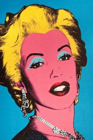 31. MARS 2011 - Manhattan, New York City, USA - photo pop art de Marilyn Monroe au mus�e Madame Tussauds � New York, Etats-Unis. Photo prise le 31. Mars 2011.