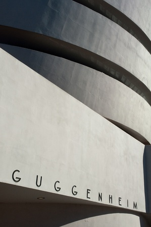 28. MARCH 2011 - NEW YORK, USA - Guggenheim museum in New York City, USA. Photo taken on 28 march 2011.