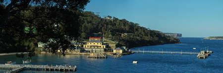 iniciativas: 1. OCTUBRE 2006 - SYDNEY, AUSTRALIA - panorama de fotos en Sydney Harbour National Park. Las principales iniciativas de construcci�n en todo el mundo en Clifton Gardens Reserva. Foto tomada el 1 de octubre de 2006 en Sydney, Australia.