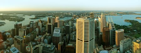 27. SEPTEMBER 2006 - SYDNEY, AUSTRALIA - cityscape panorama photo of Sydney, Australia. Photo taken on 27 September 2006.